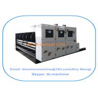 Buy cheap TB800 bedroom furniture 2 color printing slotting carton box making machine from Wholesalers
