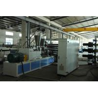 Wholesale Conical PVC Sheet Extrusion Line Compact Structure Economic Energy Consumption from china suppliers