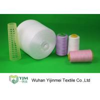 China Z Twist / S Twist Polyester Sewing Thread , Customized Color Ne 20s to Ne 60s on sale