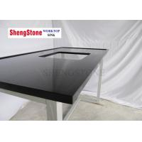 China Black Marine Edge Countertop Matte Surface For Chemical Laboratory on sale