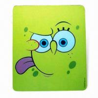 Wholesale Mouse Pad in Various Colors, Designs with Silkscreen Printing, Made of EVA and PVC from china suppliers