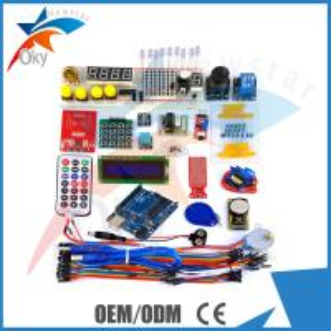 Remote control RFID starter kit for Arduino  , UNO R3 / DS1302  Joystick