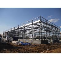 Wholesale Prefabricated Steel Structure Storage Warehouse with Low Cost from china suppliers