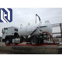 Wholesale Red 6x4 12m3 Sewage Suction Truck Septic Pump Truck Garbage Fecal SINOTRUK SWZ from china suppliers