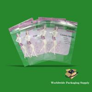 China Clothing Zipper lock Plastic bags on sale