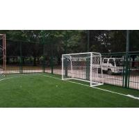 China Green / Olive Green Outdoor Sport Artificial Turf For Football Fields / Playground on sale