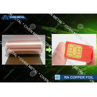 Wholesale 6μm Ultra Thin Copper Foil Roll RA , Decorative Copper Foil shielding from china suppliers