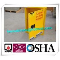Wholesale 4 GAL Small Industrial Safety Cabinets With Door For Chemical Flammable Liquids from china suppliers