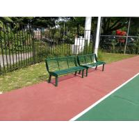 China Eco Friendly Playground Equipments Green Outdoor Chair For Park on sale