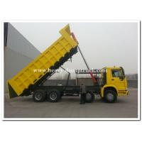 Buy cheap 336 hp 8x4 heavy duty dump truck  front lift  HW76 cab , Howo tipper truck from Wholesalers