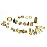 Buy cheap Mirror Polished Brass Electrical Parts , Brass Machined Parts ISO9001 from wholesalers