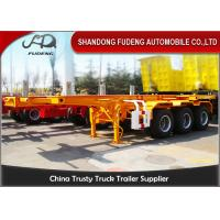 Wholesale Tri Axles Chassis Container Trailer For  40ft Container Transportation from china suppliers