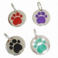 Wholesale Dog ID Tags, Made of Metal from china suppliers