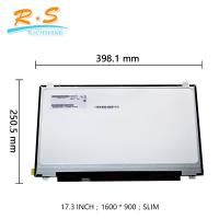 Buy cheap 17.3 laptop LCD Screen Replacement B173rtn02.2 small lcd panel ( 1600*900 ) from wholesalers
