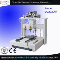 Wholesale Three Dispensing Head Automated Dispensing Machines 0.01 Mm / Axis from china suppliers