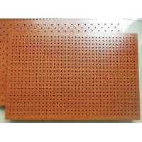 Wholesale Fireproof Wooden Acoustic Perforated MDF Panels For Wall And Ceiling from china suppliers