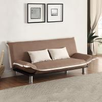 2 Pillow Modern Home Sofa Bed Pull Out For Added Versatility L195*W102 / 123*H90 / 32CM