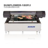 28㎡/h At 360×360dpi Resolution textile Digital Flatbed Printer Micro Piezo-electric Ink-jet Mode