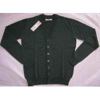 Wholesale Men′s Knitted Cardigan, Long Sleeve Sweater (SFY-A102) from china suppliers