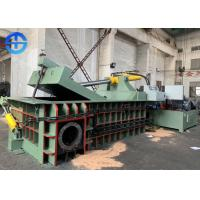 Wholesale Industrial Waste Scrap Metal Baler Scrap Baling Machine Bale Size 500*500 Mm from china suppliers