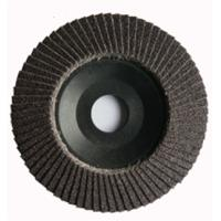 "China 4-1/2"" Aluminum Oxide Flap Disc with Plastic Base on sale"