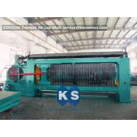Wholesale Heavy Duty Gabion Mesh Machine Net Weaving Machine 80x100mm Netting Width 4300mm from china suppliers