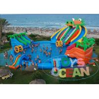 Wholesale Dragon Huge Adults Inflatable Water Park Slides For Swimming Pool from china suppliers