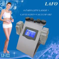 Wholesale 6 in 1 portable vacuum rf cavitation laser lipo slimming machine from china suppliers
