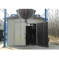 Wholesale Environmental Protection Shot Blasting Booth With Dust Removal System / Lighting Device from china suppliers