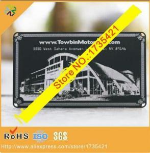 China Factory price Black base custom logo metal cards on sale