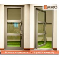 Wholesale Single Pane Internal Aluminium Glass Doors For Residential House Color Optional from china suppliers