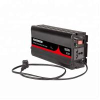 China 500 Watt Rechargeable Car Power Inverter Charger 12V 24V 48V DC For Home on sale