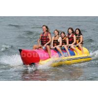Wholesale Inflatable Banana Boat For 5 Persons , Inflatable Towable Water Tube from china suppliers