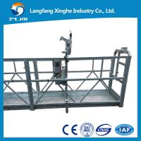 Wholesale Suspended Working Platform Hanging Device For Cleaning of Suspended platform from china suppliers