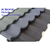 Wholesale CE Colorful Stone Coated Metal Roofing Tiles Villa Building Material from china suppliers