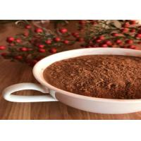 Wholesale Healthy Unsweetened Dark Brown Cocoa Powder , Alkalized Baking Cocoa Powder from china suppliers