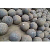 Wholesale Rolled and forged grinding steel balls 20mm - 150mm made of 60Mn 65Mn B2 B3 from china suppliers