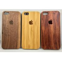 Wholesale Real Nature wood Case for iPhone 5 5S 6 6s 6Plus 7 Walnut Bamboo rosewood from china suppliers