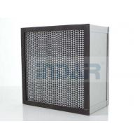 Wholesale SUS304 Frame Clean Room HEPA Air Filter H13 With High Temperature Resistance Panel from china suppliers
