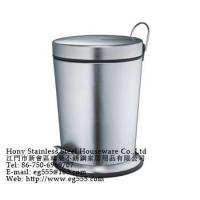 Wholesale Stainless steel trash bins from china suppliers