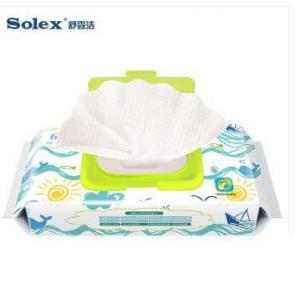 Wholesale International certification Solex brand Newborns 0-3 months dedicated wet wipes best huggies warmer Target  baby wipes from china suppliers