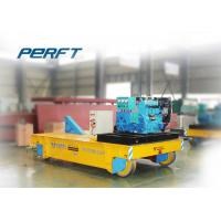 Wholesale 15T trackless handling bogie Material Transfer Cart used in works for mold handling from china suppliers