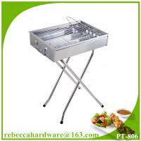 China Charcoal BBQ grill portable stainless steel outdoor barbeque grill on sale