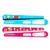 China GJ-kids02 Adhesive Style Paper Compound Single Use Kids Medical ID Bracelet for Events on sale