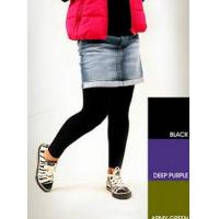 Wholesale Black Comfortable Childrens Footless Tights Pants With Customized Printing from china suppliers