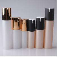 Wholesale 15ml 30ml 50ml Cosmetic Round Plastic Acrylic Lotion Airless Bottle from china suppliers