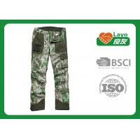 Casual Multi - Pockets Hunting Camo Pants For Men Breathable
