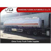 Wholesale 40 / 45 / 50 CBM Crude Oil Tanker Trailers Q345B Carbon Steel Tanker Body from china suppliers
