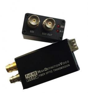 Buy cheap Mini Type 3G-SDI to Fiber Optic Converter , Full HD Sdi Video Converter 1080P from wholesalers