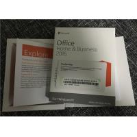Wholesale Computer Microsoft Office Home And Business 2016 Product Key Card Without Media from china suppliers